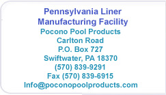 Pocono Pools Pennsylvania Address